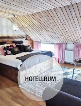 Logi hotellrum på Hotell & SPA Lögnäs Gård utanför Laholm i södra Halland