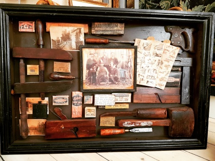 "Peepshow ""Carpenter´s box. More pictures on next page ""Bilder/Pictures""!"