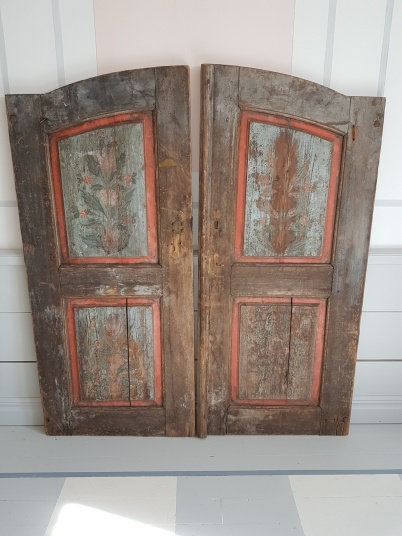 "Country style pair of doors. More pictures on next page ""Bilder/Pictures""!"