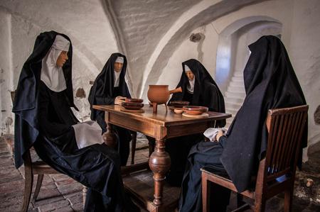 Klostervalven är de äldsta bevarade delarna av Bosjökloster. Foto: Jørgen Bresson