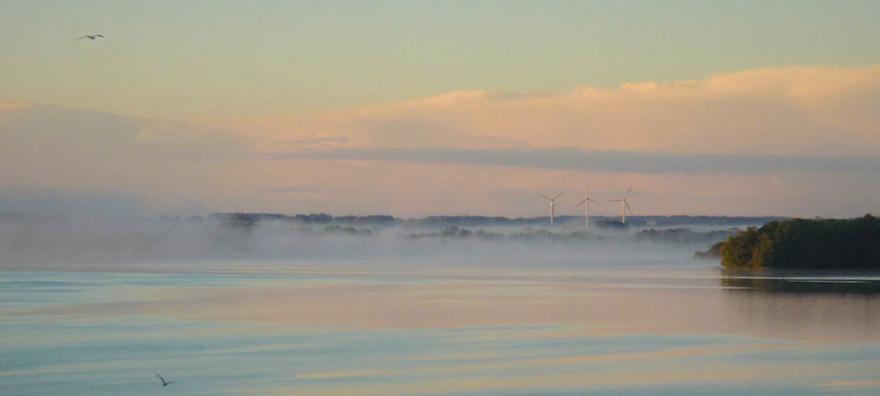 Morgondimma över Ringsjön