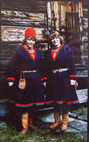 Berit Nilsson och Margareta Grahn