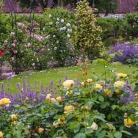 I slottsträdgården och parken finns romantiska platser för bröllopsbilderna