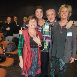 PARIS Mia Andersson and Italian colleagues