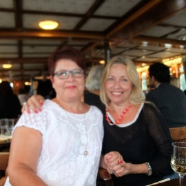 Nordic Family Therapy congress, Turko 2014, Ritva and me