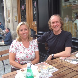 Michael White and I, Paris 2007