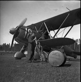 J 11 från 1. div F 9. © Stiftelsen Krigsflygfält 16