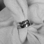 Släta blanka ringar med rundade kanter Artnr: pris vid beställning maila kontakt@rolisilverdesign.se