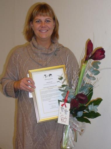 Linda Roxhag Årets Lokala Yrkeskvinna 2014