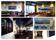 Stora fototavlor på duk till restaurang och konferensen