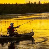 Rent a Fishing kayak - Nucanoe Frontier 12