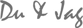 du & jag logotype