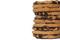 chokladplarn stapel + tom yta till att skriva på