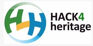 Klickar på bilden kommer du till hemsidan och kan läsa mer om Hack4Heritage.