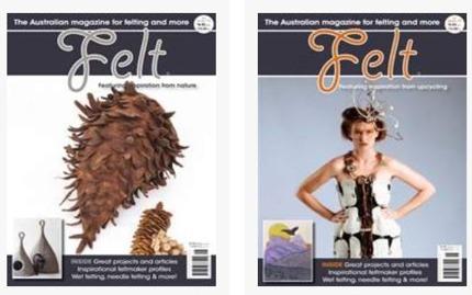 Wendy Bailye har tidigare varit chefredaktör för tidningen Felt Magazine som ges ut av Artwear Publications och som enligt Wendy trycks i närmare 30.000 exemplar. Tidningen finns tillgänglig även onli