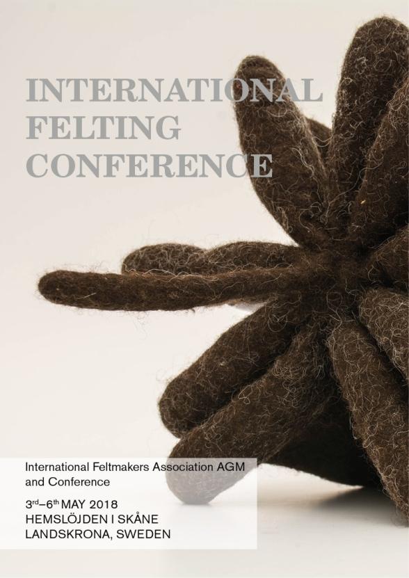 I och med att konferensen är internationell är all information på webbsidan för Hemslöjden i Skåne på engelska.