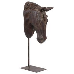 Hästhuvud på fot -