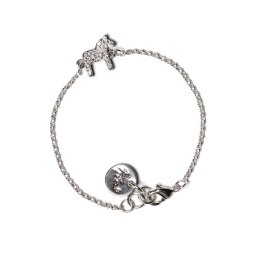 Dalahäst armband Crystal - Glitter