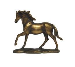 Bronze häststatyett -