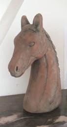 Mindre hästhuvud - Terracotta