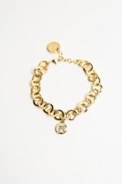 Nordic crystal armband - Nordic crystal guld