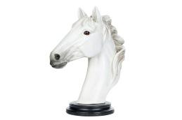 Vit hästhuvud -