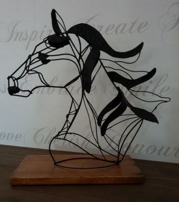 Ståltråds häst -