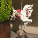 Karusell häst