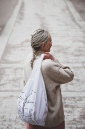 Shoulderbag Dalaline - tygpåse