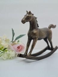Rocking horse bronze -