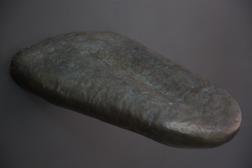 LINGUA. Brons. L 65 cm.
