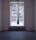 Black Tear, lack på glas, 270 cm