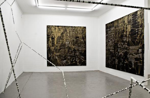 Eva Beierheimer. Installationsbild 2017