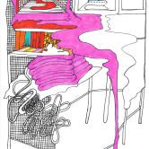 Monica Höll 00024 Pink Line 2009 m