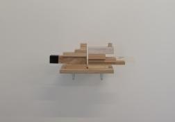 Arkitektur 2. 2013. Varierande trämaterial. 43x33x17 cm