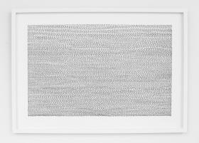 Ihop, isär, ihop. 2015. Blyerts på papper. 35 x 50 cm