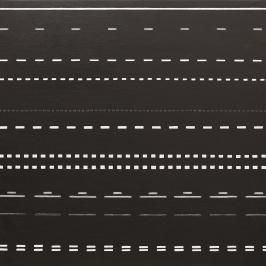 Ledlinje 5. 2015. 90 x 90 cm. Olja på duk.