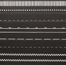Ledlinje 6. 2015. 90 x 90 cm. Olja på duk