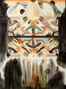 Maria Luostarinen. Album. 2015. akvarellmålning. 56x76 cm. Foto: Ari Luostarinen.
