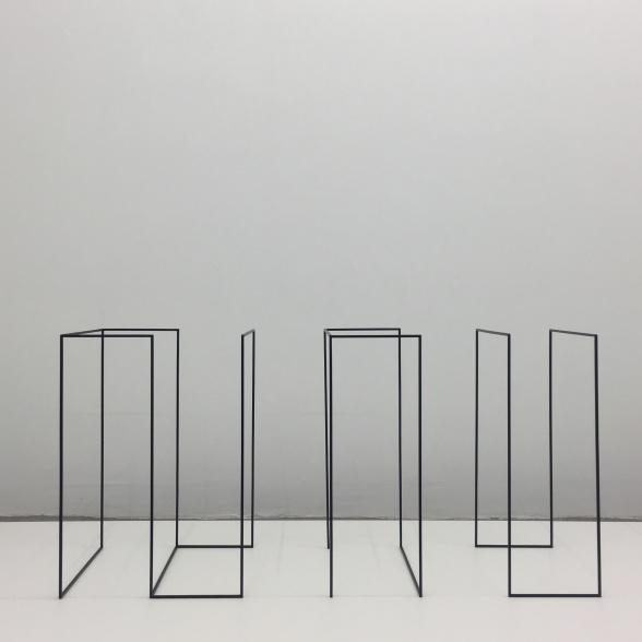 Helén Svensson. In ut i. Skulptur. 2018. Foto: Mårten Claesson