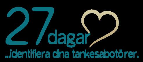 27 dagar - identifiera dina tankesabotörer