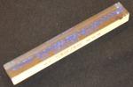 Teststav i klar akryl 100x10x10 mm