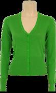 Kofta jasmine green V-ringad