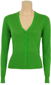Kofta jasmine green V-ringad - S