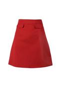 Walk the line kjol, röd, WTG