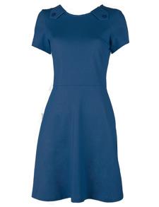 Johnny klänning blå - XS
