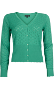 Hjärtankofta Sparkle green