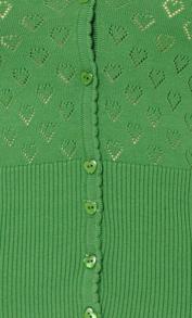 Hjärtankofta Jungle Green - M