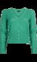 Hjärtankofta Sparkle green - L