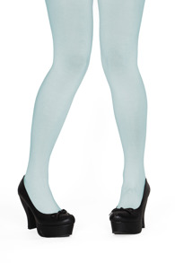 Margot tights pastel au mint - One size
